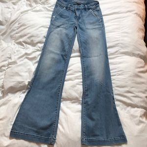 American Eagle stretch A-Line jeans